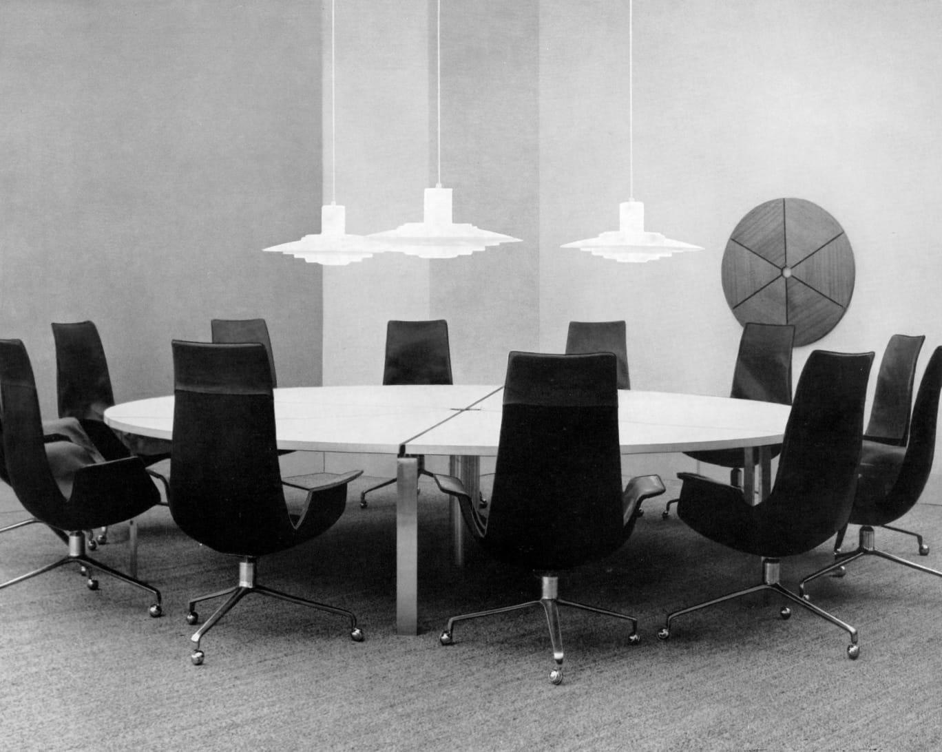 FK als Konferenzstuhl, um 1975